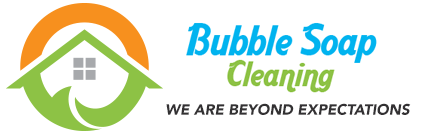 Bubble Soap Cleaning Logo